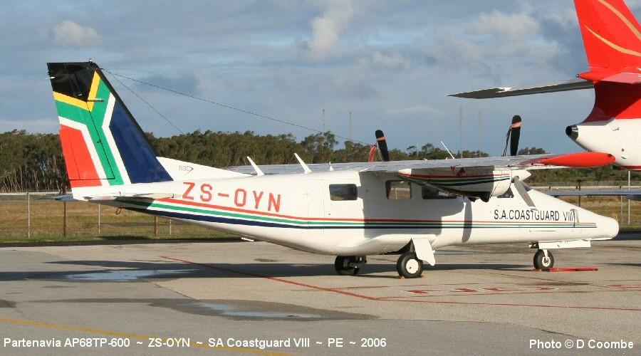 Aviation photographs of partenavia ap-68tp-300 spartacus
