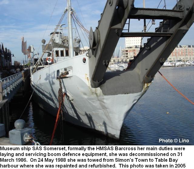 Sas Somerset Wwii Boom Defence Vessel