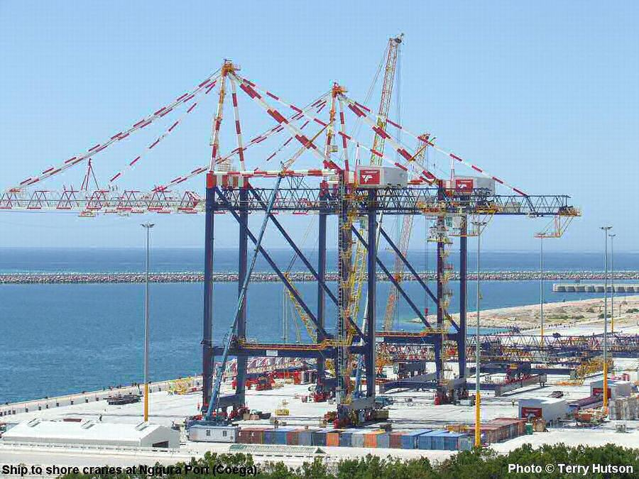 Ship To Shore Gantry Crane Nedir : Coega