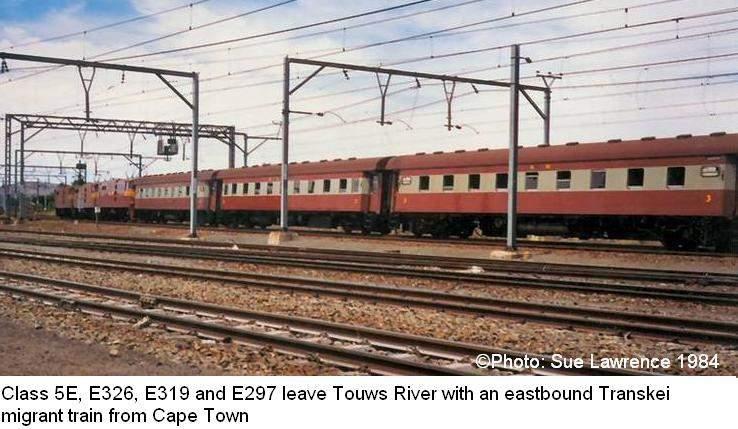 Electric Train Locomotive Class 4E - 5E - 5ES Photos