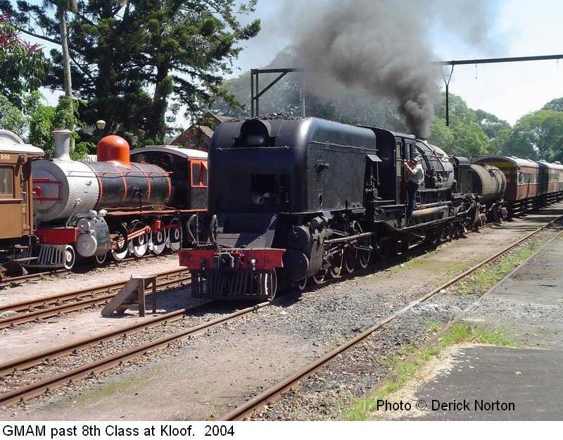 Garratt Locomotive Class GMAM Photos