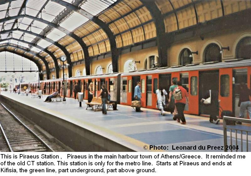 Greece new york and australia train photos