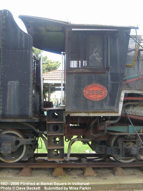 steam train locomotive class page