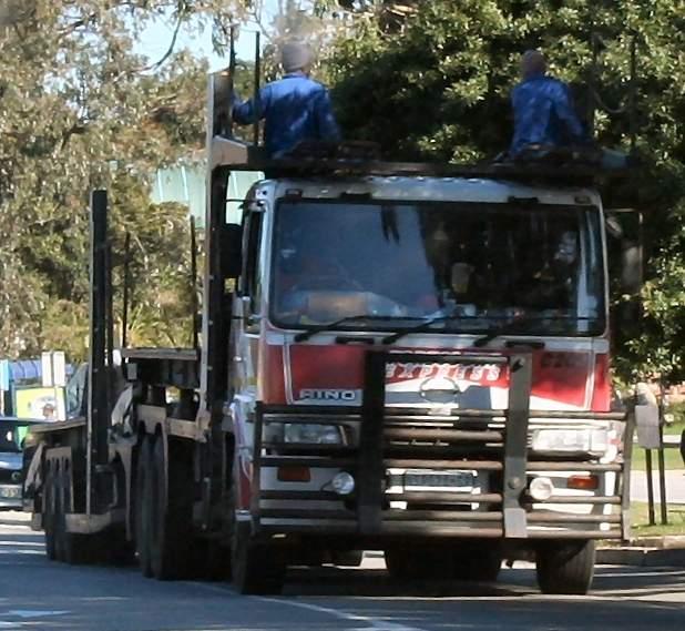 New Nissan Truck >> Hino Truck Photos