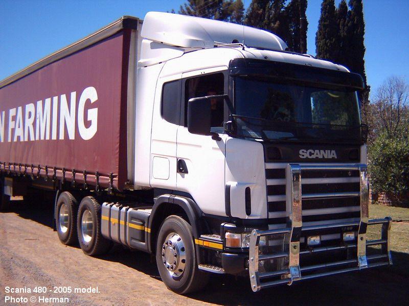 Scania truck photos