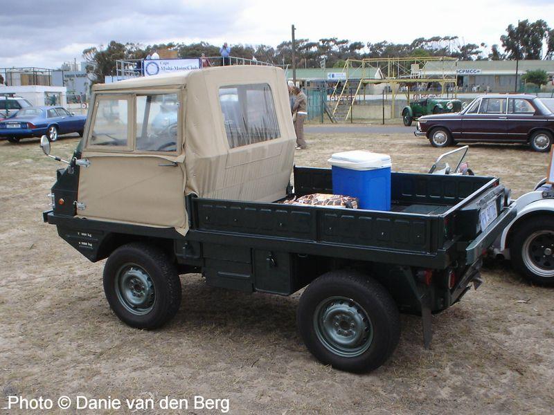 Steyr-Puch Haflinger Truck Photos